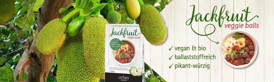 Jackfruit Veggie Balls - vegan und ballaststoffreich