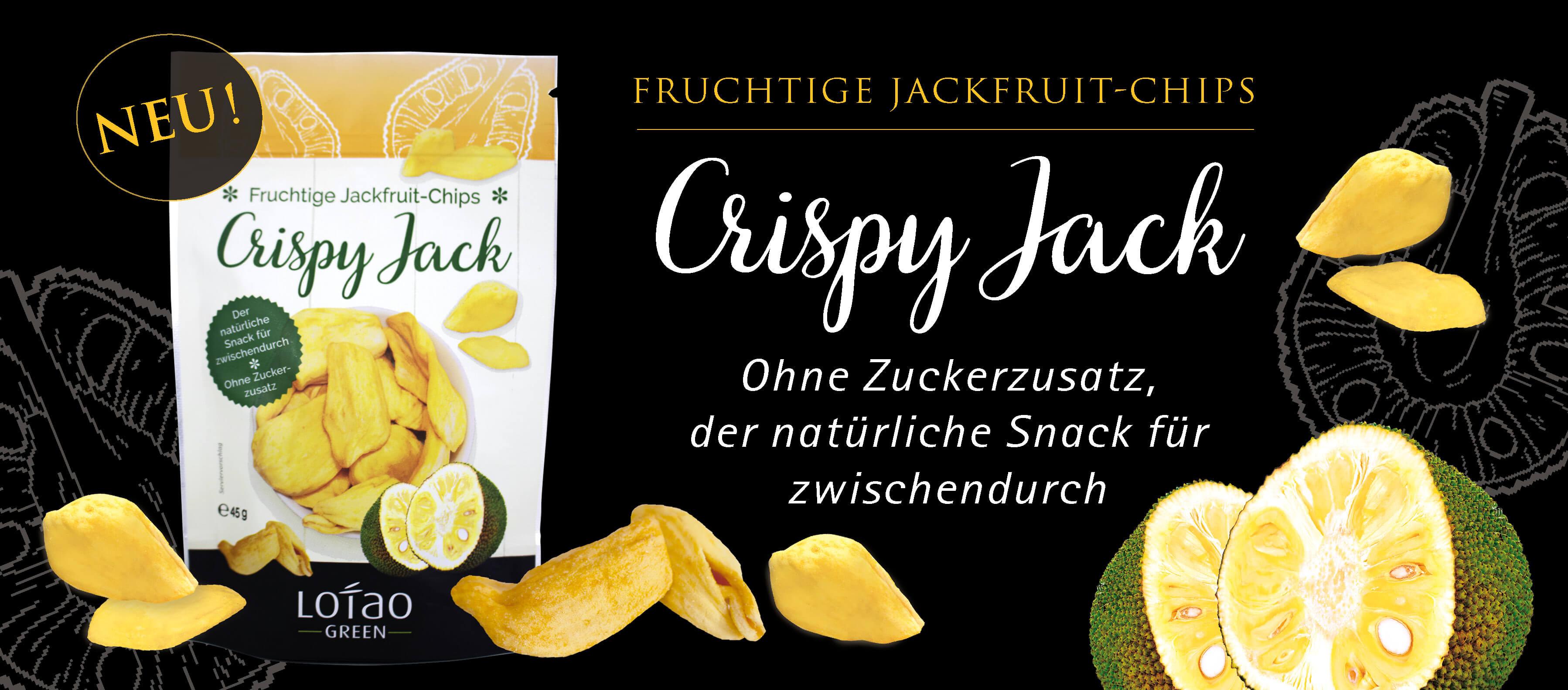 Neu: Jackfruit-Chips - Crispy Jack Snack